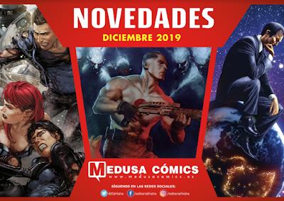 Novedades diciembre 2019 de Medusa Cómics