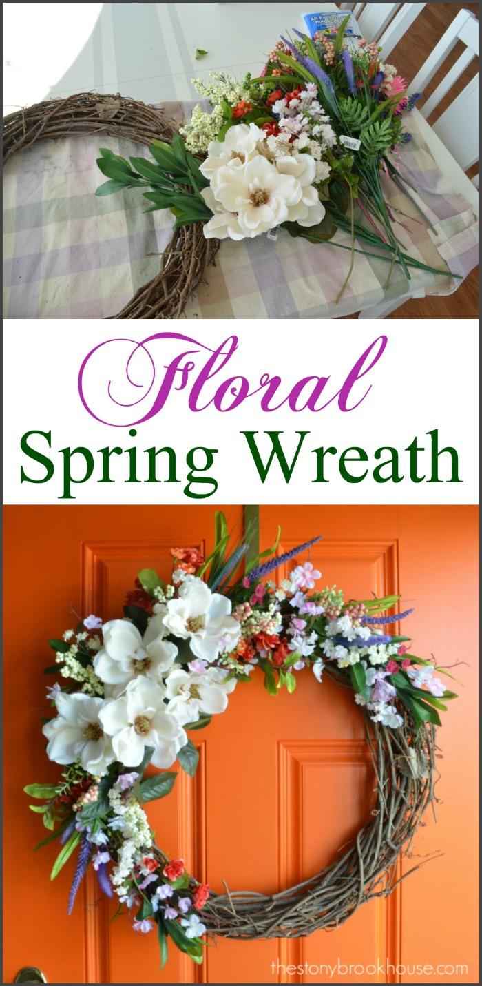 A Simple Easy Spring Wreath