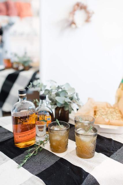maple bourbon sours