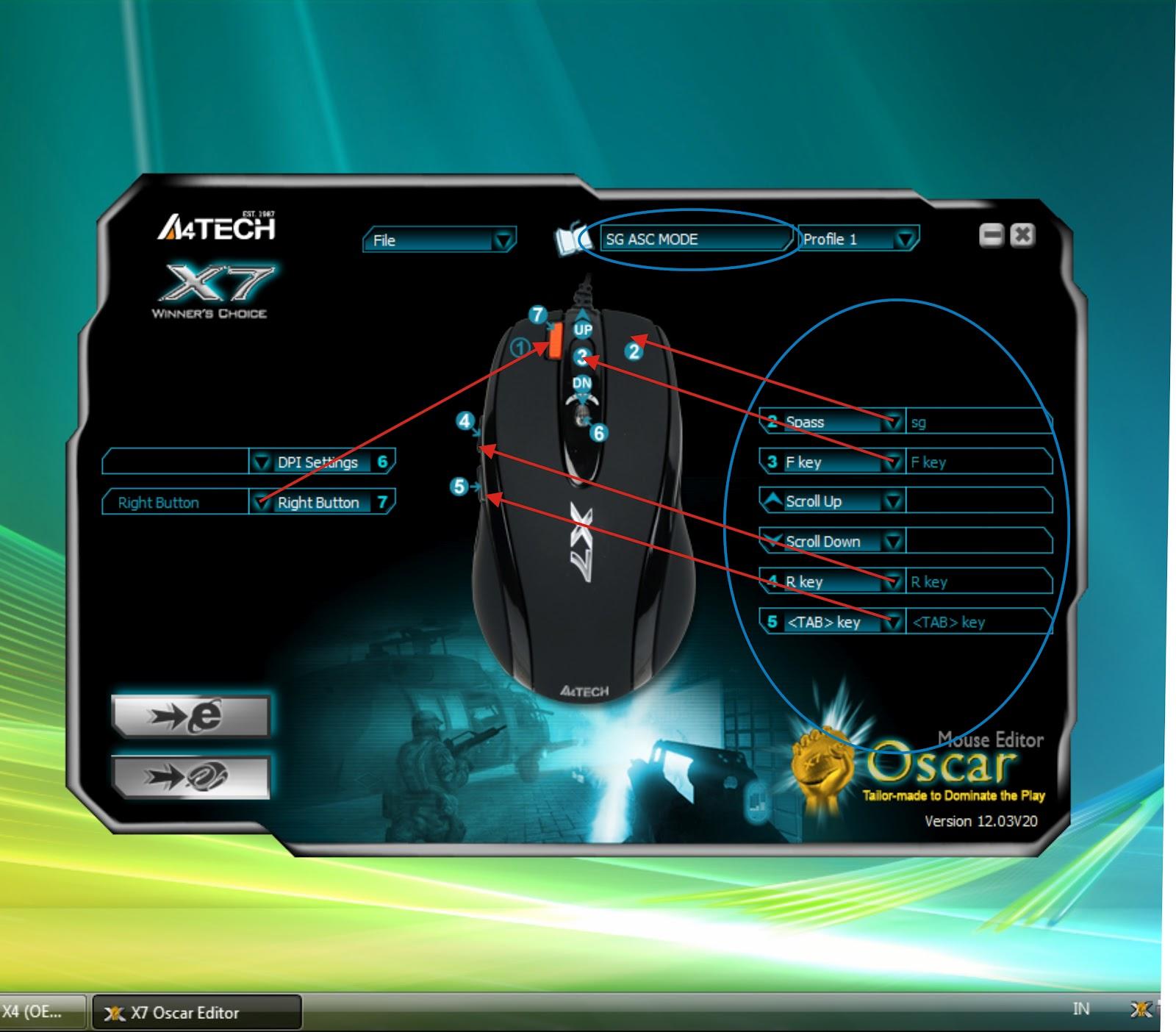 Oscar mouse editor 12. 0 download (free) oscareditor. Exe.