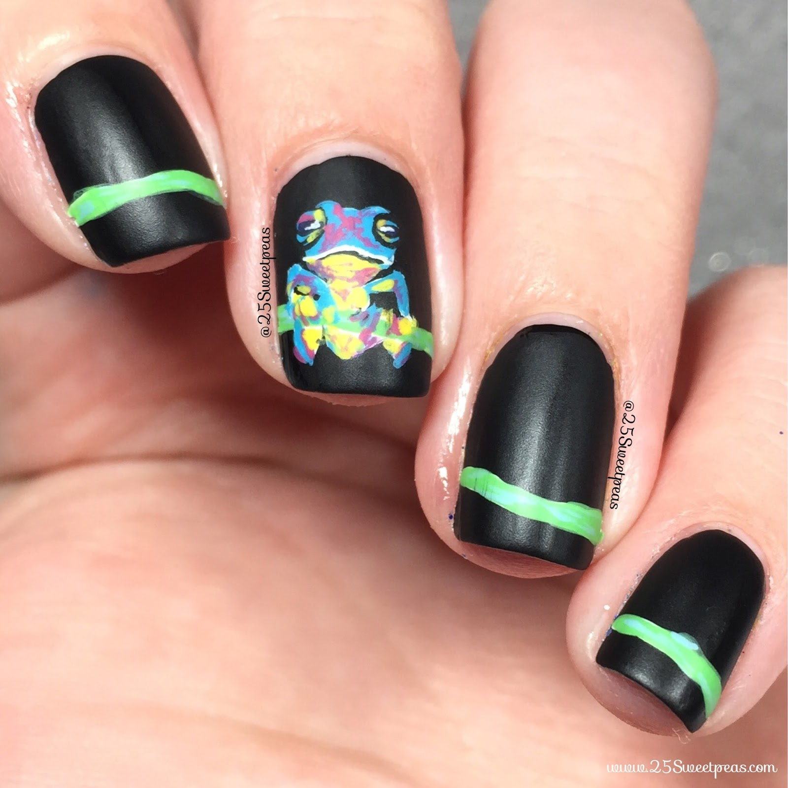 Rainforest Nails