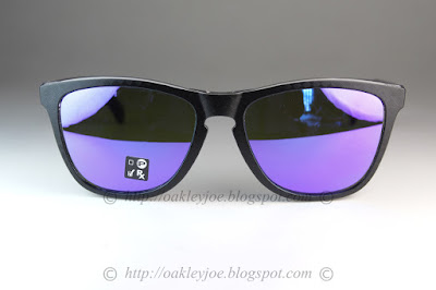 aeb708a0fe8 OO9245-5954 Frogskins Checkbox Collection Asian Fit checkbox silver + prizm  sapphire iridium  205 lens pre coated with Oakley hydrophobic nano solution