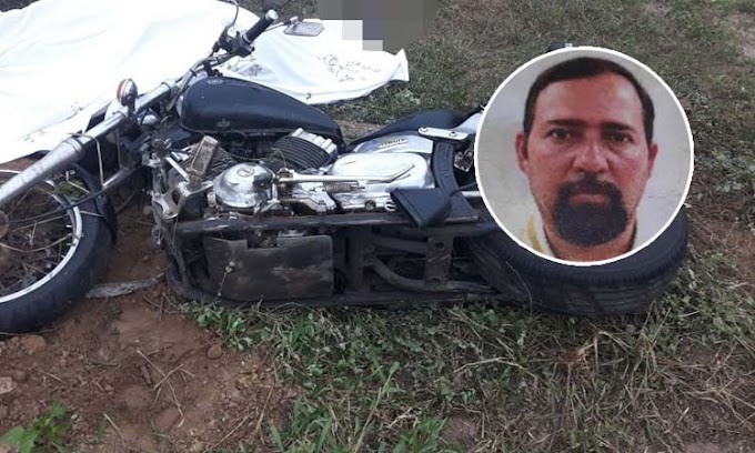 Motociclista morre em grave acidente no município de Mairi; Samu dificultou o socorro