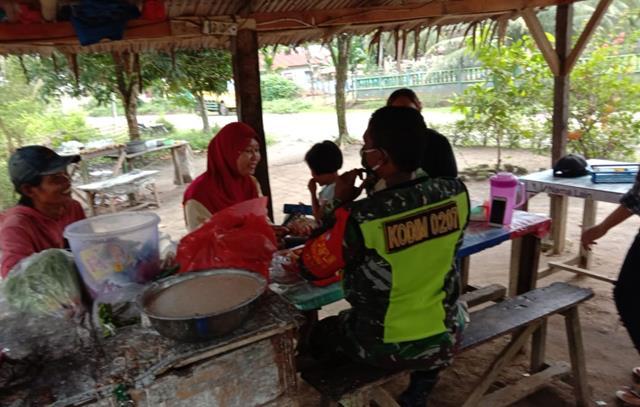 Edukasi Covid-19 Kepada Warga Binaan Dilaksanakan Personel Jajaran Kodim 0207/Simalungun