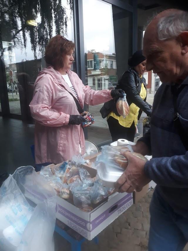 """action """"solidarité sinistrés  inondations liège"""""""