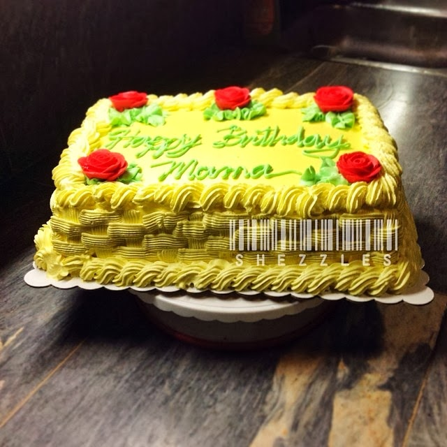 Special Order Birthday Cake