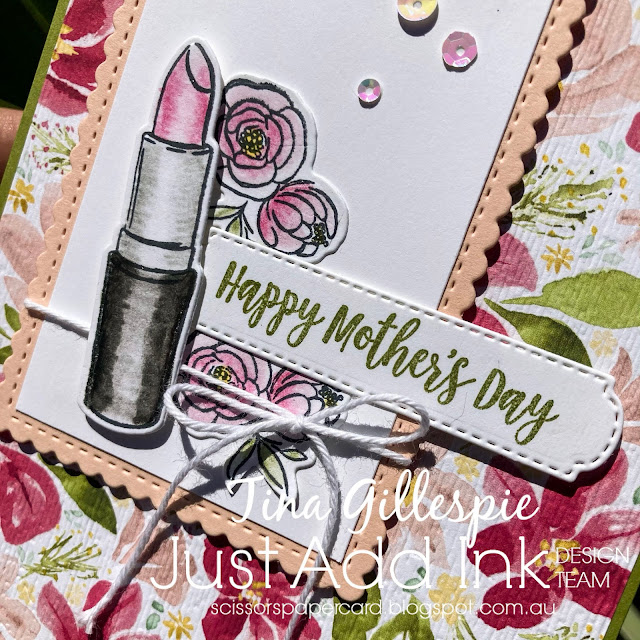 scissorspapercard, Stampin' Up!, Just Add Ink, Dressed To Impress, All Dressed Up Dies, Best Dressed DSP, Stitched So Sweetly Dies, Subtle 3DEF, Peaceful Moments, Mother's Day