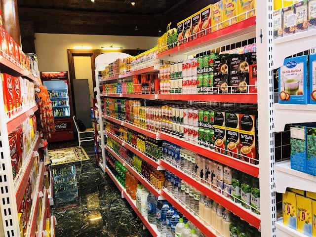 Một số hình ảnh trưng bày hàng hóa trong siêu thị mà ISaac triển khai