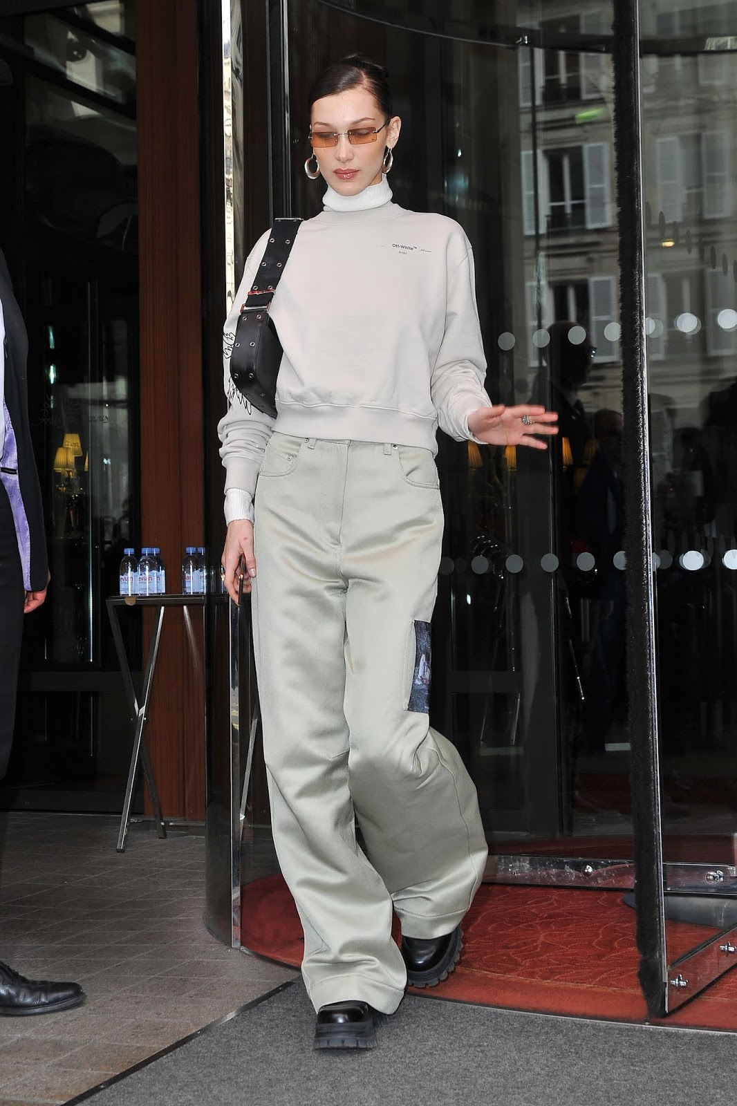 Bella Hadid - Out and about in Paris, France February 28, 2019