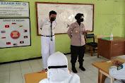 Cek Prokes, Satgas Ops Bina Kusuma Maung Polres Serang Datangi Sekolah-sekolah