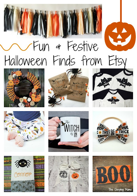 Favorite Halloween Finds from Etsy || The Chirping Moms