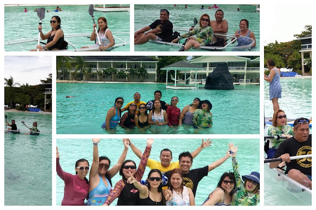 Plantation Bay Day Tour - Fun swimming, kayaking and paddle boating at Plantation Bay. Day users can get a free use of kayak and paddle boat for 15 minutes.