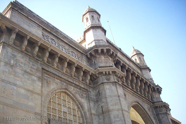 British Indian architecture of Gateway of India Mumbai