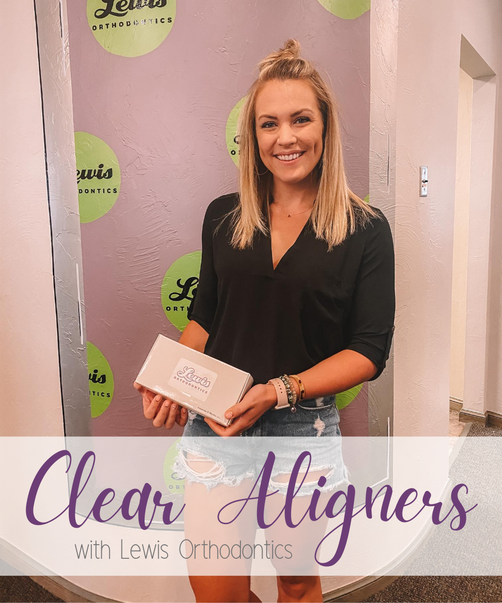 OKC blogger Amanda Martin shares her experience with clear aligners at Lewis Orthodontics
