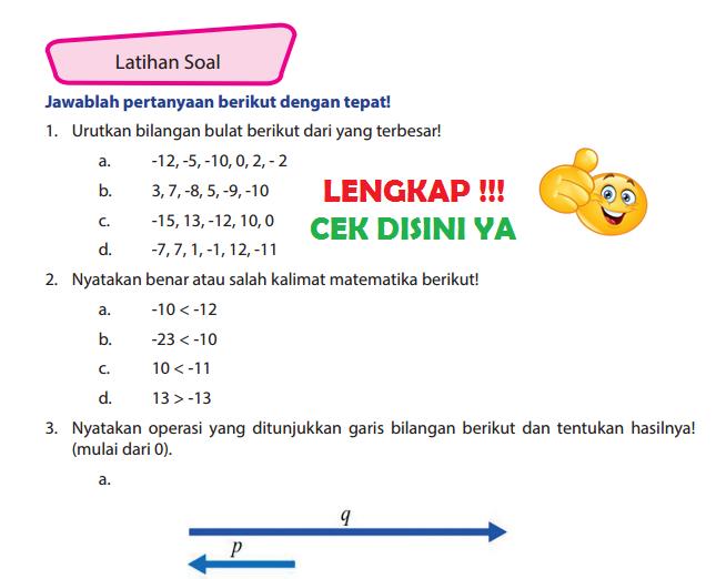 Lengkap Kunci Jawaban Halaman 56 57 58 Buku Senang Belajar Matematika Kelas 6 Kunci Jawaban Lengkap Dan Terbaru Simplenews