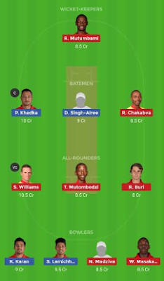 NEP vs ZIM dream 11 team | ZIM vs NEP