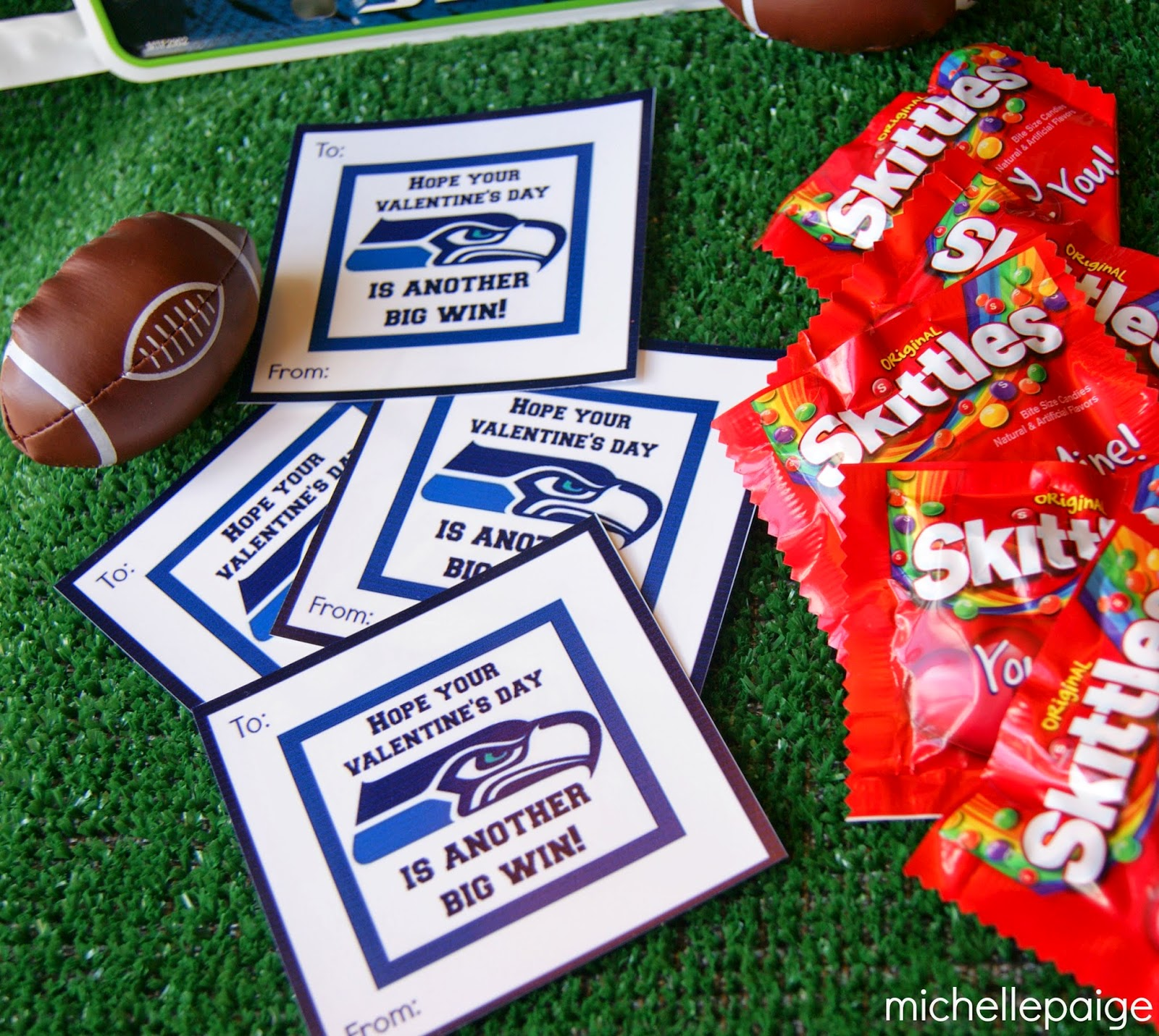 Michelle paige blogs seattle seahawks football valentines for Valentines day ideas seattle