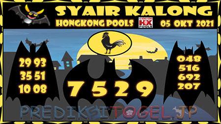 Kalong HK Selasa 05 Oktober 2021 -