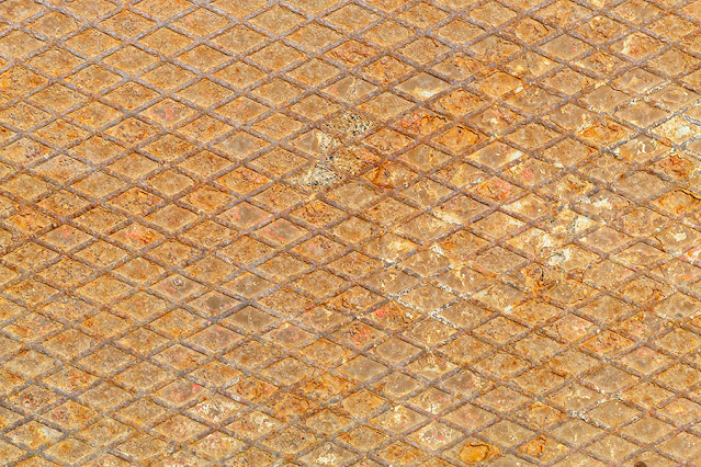 Old Weathered Rusty Patterned Metal Texture Free Image