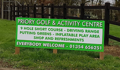 Priory Golf Centre in Wimblington, March