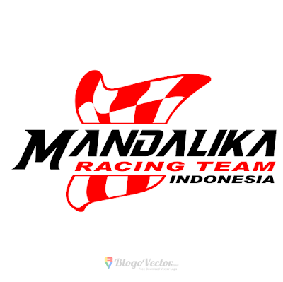 Mandalika Racing Team Logo Vector
