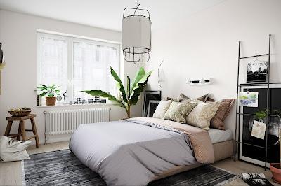 Desain Kamar Tidur Rustik Minimalis