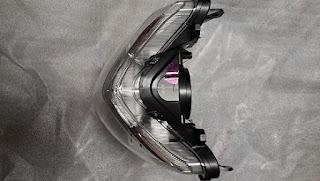 Original Reflektor Headlamp Honda Cb150r Ahm