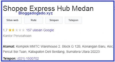shopee express hub medan