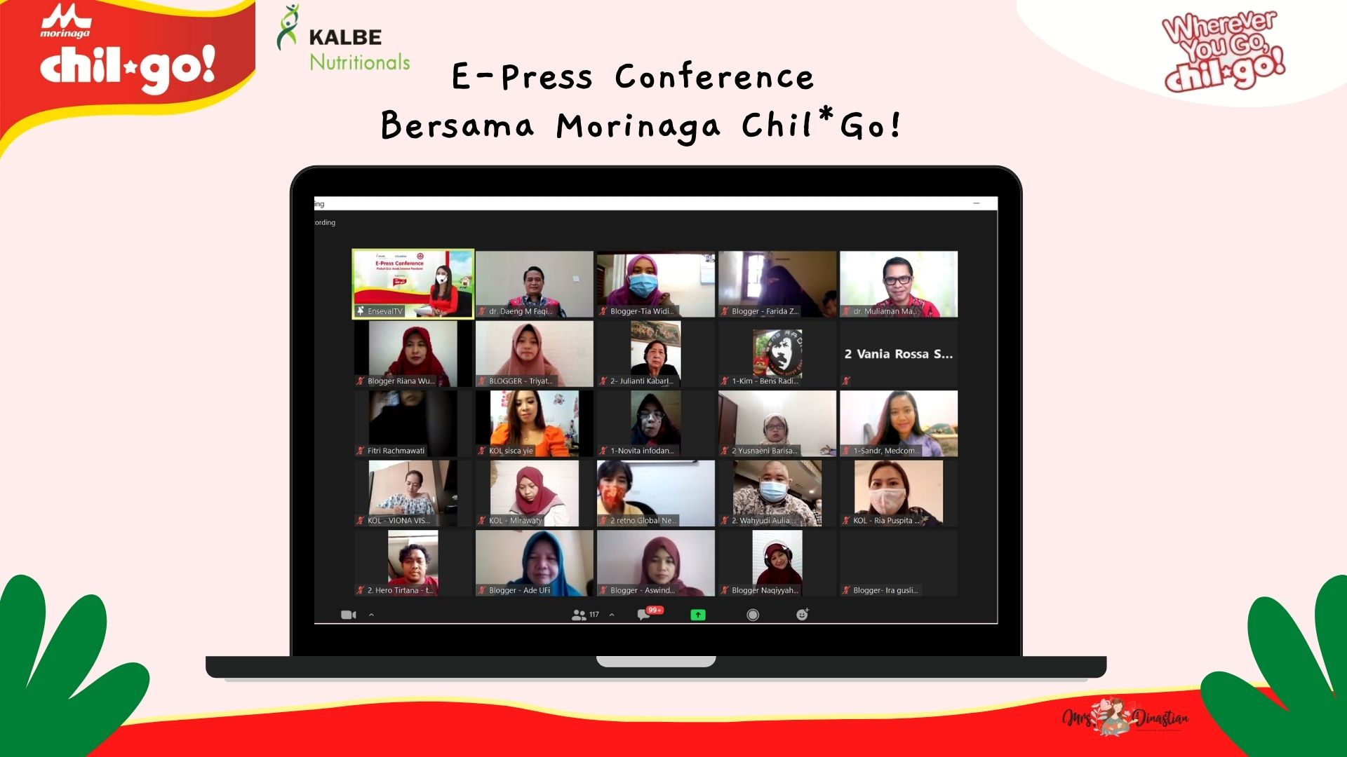 E-Press Conference Bersama Morinaga Chil*Go