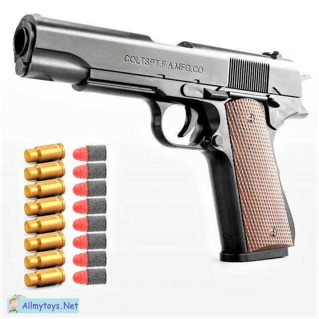 Colt 1911 Shells Ejecting Realistic Toy Gun 1
