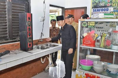 Soft Launching Pujasera Pantai Prigi, Bupati Trenggalek Titip Pesan Kepada Para Pedagang