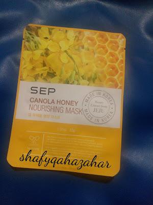 REVIEW : SEP CANOLA HONEY NOURISHING MASK