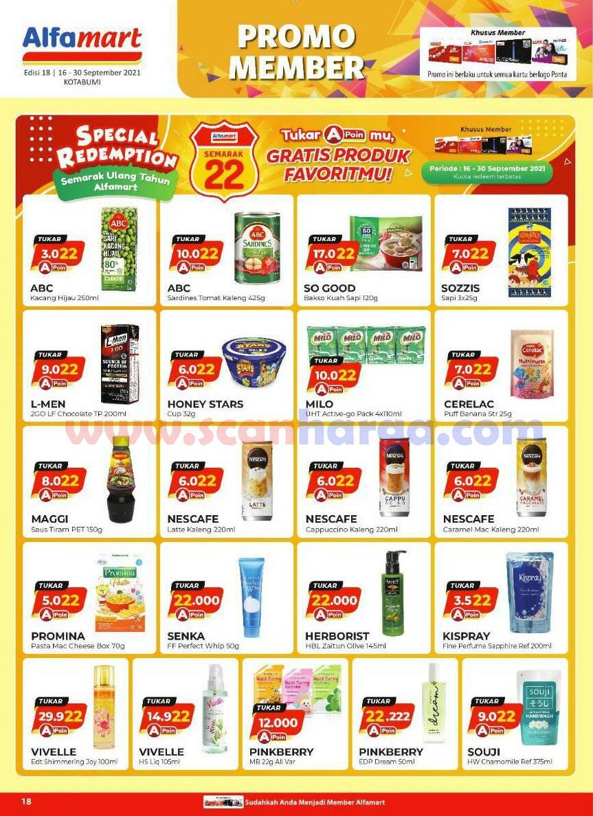 Katalog Alfamart Promo Terbaru 16 - 30 September 2021 18