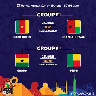 مباراة الكاميرون وغينيا بيساو بث مباشر اليوم الثلاثاء، الموافق 25 يونيو 2019،