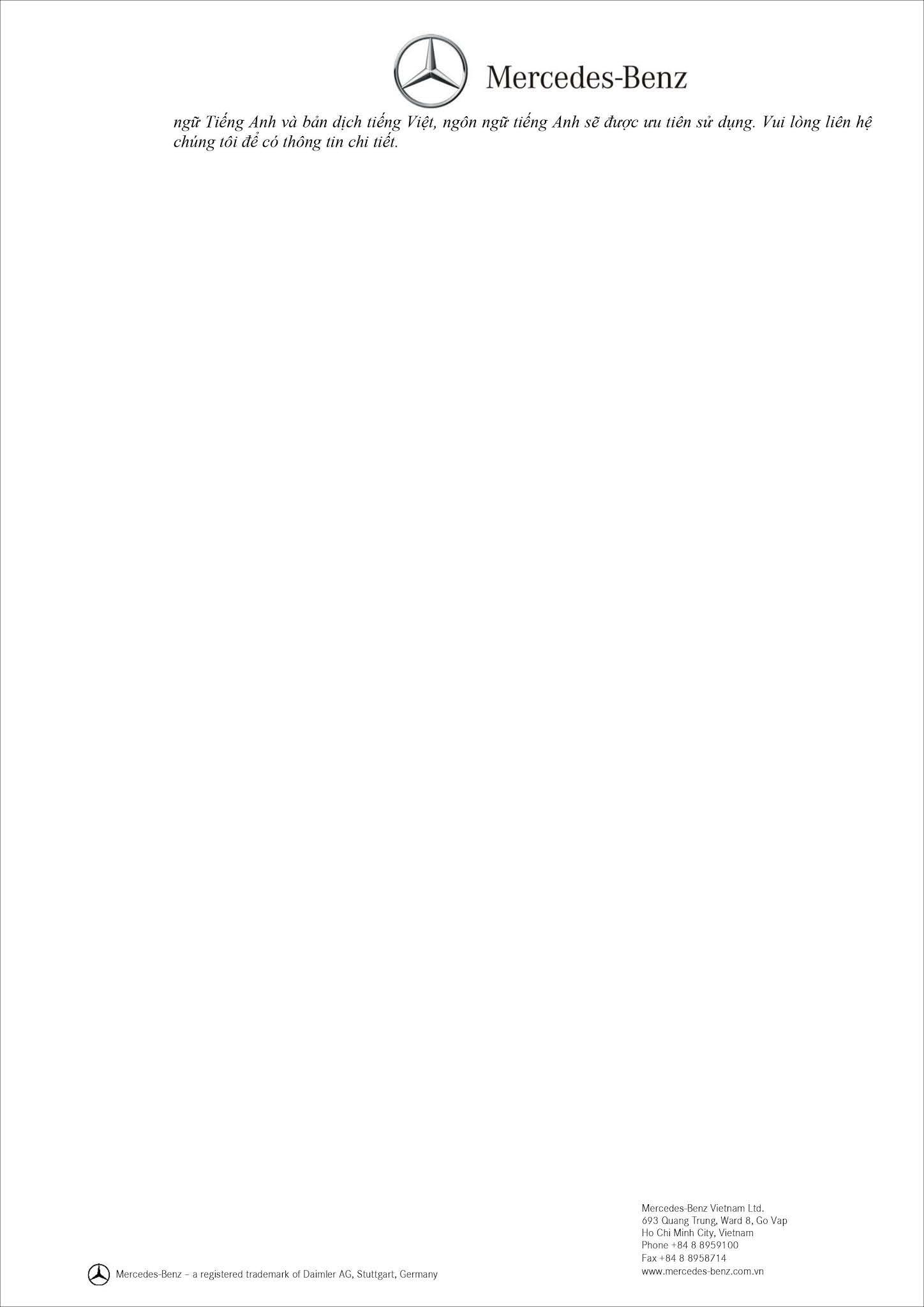 Bảng thông số kỹ thuật Mercedes AMG G63 2021