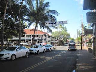 Front Street Lahaina in Maui Hawaii