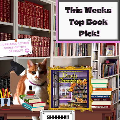 Amber's Book Reviews #171 - What Are We reading This Week ©BionicBasil® Death Overdue