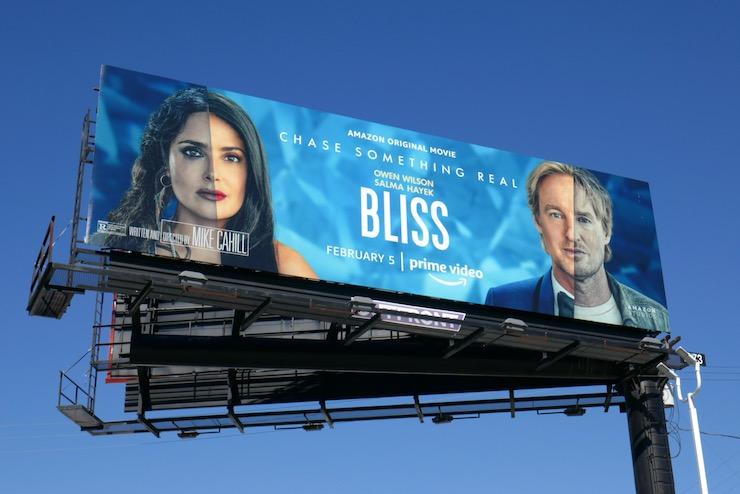 Bliss movie billboard