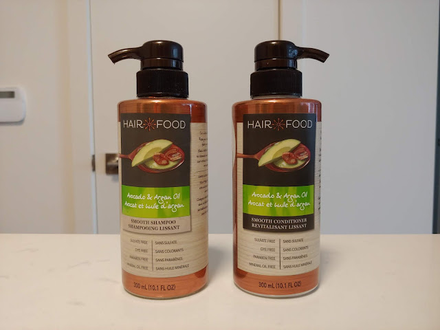 Hair Food Smooth Shampoo + Conditioner Review