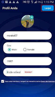 kode undangan aplikasi playday