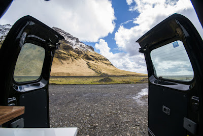 You can still rent a 4WD campervan in Iceland