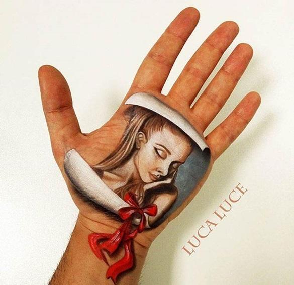 Lukisan Tangan 3D Yang Sangat Realistis