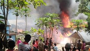 Sijago Merah Kembali Bakar 6 Rumah Warga di Sianjurmula, Samosir
