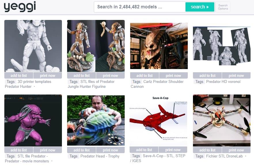 أفضل-مواقع-لتحميل-تصميمات-3D-جاهزة-للطباعة-موقع-Yeggi