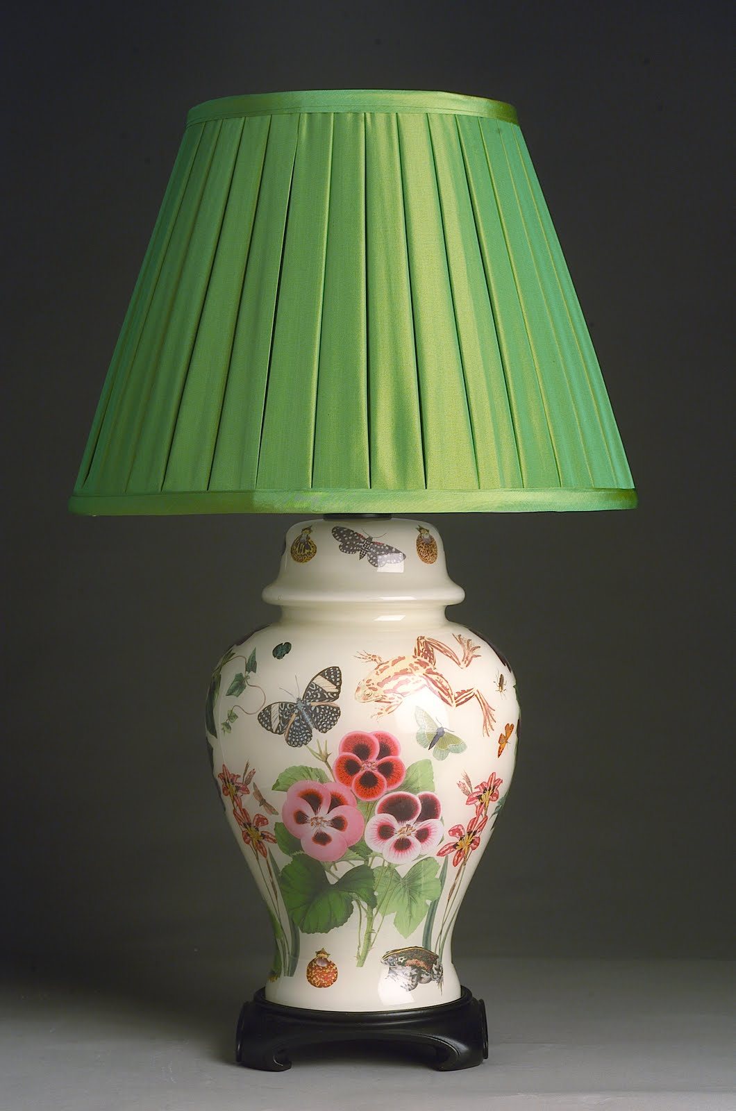J Covington Design Designer Decoupage Lamps