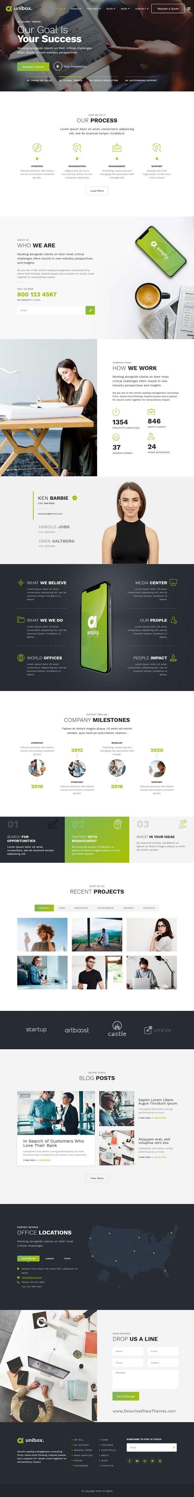 Multipurpose Corporate Business Joomla Template