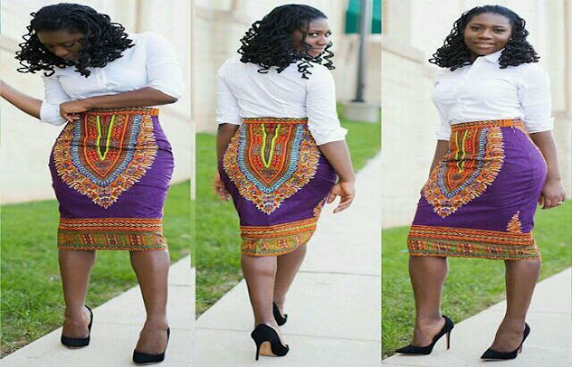 Wearing African Print Skirts to meet your comfort need as well as fashion
