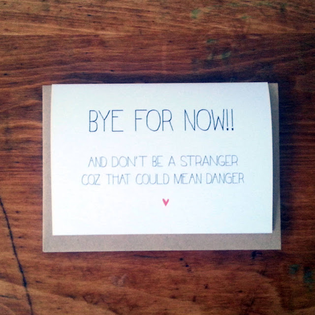 Future Endeavors Goodbye Messages