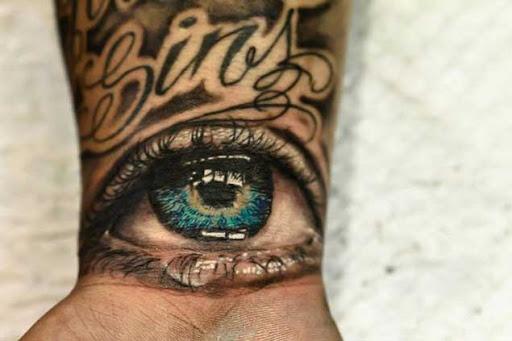 Este lindo dos olhos verdes