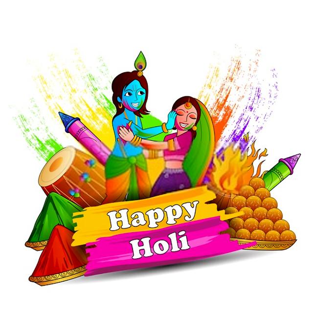 Happy Holi wish in hindi